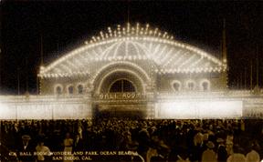 1913 wonderlandBallroomPostcard